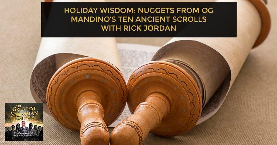 GSW 25 Rick Jordan | Ten Ancient Scrolls